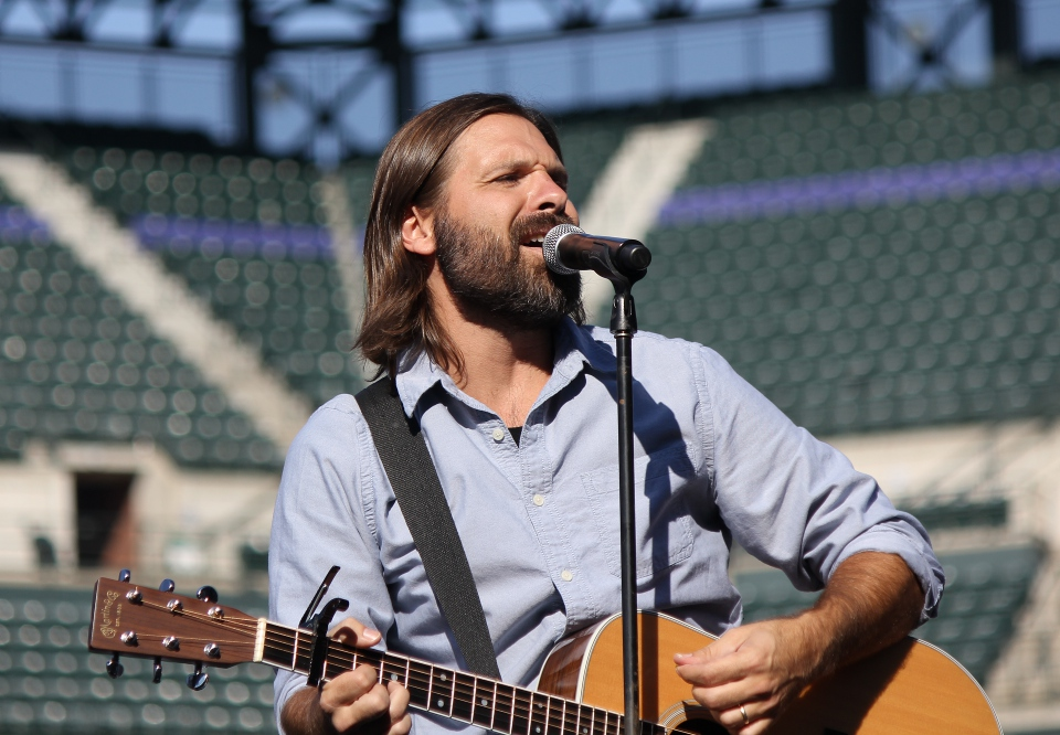 Third Day Mac Powell 2012 at Coors Field