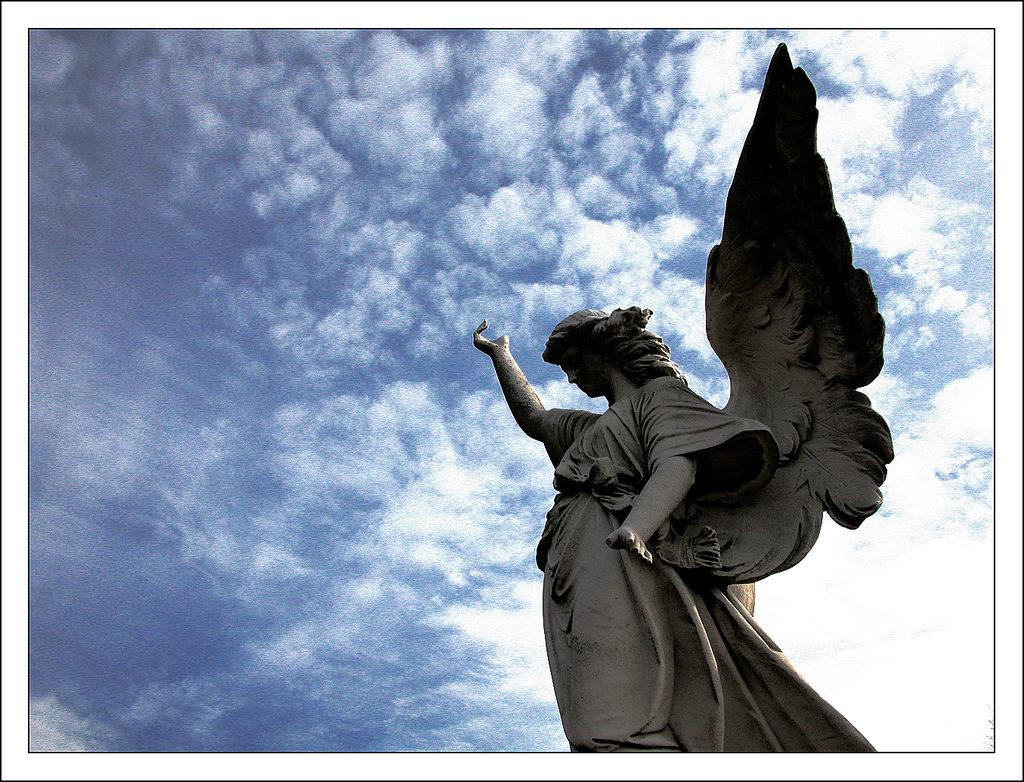 Archangel Gabriel made sure Zechariah would not speak defeat by sealing his mouth shut until John the Baptist was born.