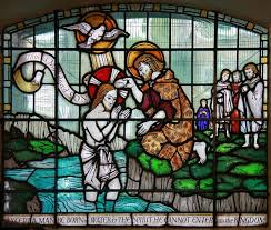 John the Baptist shined a light for others in preparation for Jesus' birth. Photo from St John the Baptist, Crondall Street, Hoxton